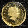 Monnaies Iles Cook. Elisabeth II (1952 -/). 1 dollar 2012 (PTL 999‰. 0,5 g)