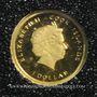 Monnaies Iles Cook. Elisabeth II (1952 -/). 1 dollar 2013 (PTL 999‰. 0,5 g)