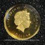 Monnaies Iles Cook. Elisabeth II (1952 -/). 1 dollar 2015 (PTL 999‰. 0,5 g)