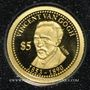 Monnaies Iles Cook. Elisabeth II (1952 -/). 5 dollars 2013 (PTL 999‰. 0,5 g)