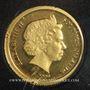 Monnaies Iles Salomon. Elisabeth II (1952 - /). 10 dollars 2009. (PTL 999‰. 1 g)