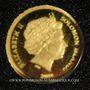 Monnaies Iles Salomon. Elisabeth II (1952 - /). 5 dollars 2008. (PTL 999‰. 0,5 g)