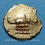 Monnaies Inde. Deccan du Sud-Ouest et côte nord de Malabar (18e - 19e siècle). Fanam