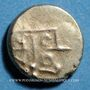 Monnaies Inde. Tuticorin. Imitation du monnayage de Tanjore (1700-1794). Fanam