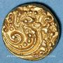 Monnaies Indes. Gangas de l'Ouest. Vikramaditya VI (?) (1076-1126). Pagode gajapati