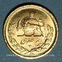 Monnaies Iran. Mohammad Reza Pahlavi. Shah (1320-58ES = 1941-79). 1/2 pahlavi 1354ES (1975). (PTL900‰. 4,07g)