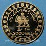 Monnaies Iran. Mohammad Reza Pahlavi, Shah (1320-58ES = 1941-79). 2000 rials 1350ES 1971). (PTL 900‰. 26,06g)