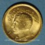 Monnaies Iran. Mohammad Reza Pahlavi. Shah (1941-1979). 1/2 pahlavi ES1353 (=1974). (PTL 900‰. 4,07 g)