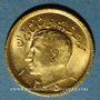 Monnaies Iran. Mohammad Reza Pahlavi. Shah (1941-1979). 1/2 pahlavi ES1353 (=1974). (PTL 900/1000. 4,07 g)
