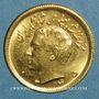 Monnaies Iran. Mohammad Reza Pahlavi. Shah (1941-79). 1/2 pahlavi 1345ES (=1966). (PTL 900‰. 4,07 g)
