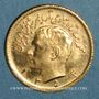 Monnaies Iran. Mohammad Reza Pahlavi. Shah (1941-79). 1/2 pahlavi 1354ES (1975). (PTL 900‰. 4,07 g)
