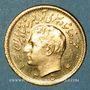 Monnaies Iran. Mohammad Reza Pahlavi. Shah (1941-79). 1/2 pahlavi 1354ES (1975). (PTL 900‰. 4,07g)