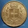 Monnaies Italie. Sardaigne. Charles Albert (1831-1849). 100 lires 1834 P. Turin. (PTL 900‰. 32,25 g)
