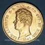 Monnaies Italie. Sardaigne. Charles Albert (1831-1849). 20 lires 1841P. Gênes. (PTL 900/1000. 6,45 g)