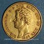 Monnaies Italie. Sardaigne. Charles Albert (1831-1849). 20 lires 1849 P. Turin. (PTL 900‰. 6,45 g)