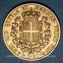 Monnaies Italie. Sardaigne. Charles Albert (1831-1849). 20 lires 1849P. Gênes.. (PTL 900/1000. 6,45 g)