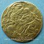 Monnaies Italie. Sardaigne. Charles Emanuel III (1730-1773). Sequin 1744