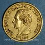 Monnaies Italie. Sardaigne. Charles Félix (1821-1831). 20 lires 1827 L. Turin. (PTL 900‰. 6,45 g)