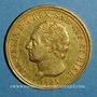 Monnaies Italie. Sardaigne. Charles Félix (1821-1831).  80 lires 1825 L. Turin. (PTL 900‰. 25,80 g)