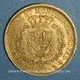 Monnaies Italie. Sardaigne. Charles Félix (1821-1831).  80 lires 1828L. Turin. (PTL 900‰. 25,80 g)