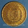 Monnaies Italie. Sardaigne. Charles Félix (1821-1831).  80 lires 1829 P. Gênes. (PTL 900‰. 25,80 g)