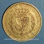 Monnaies Italie. Sardaigne. Charles Félix (1821-1831).  80 lires 1830P. Turin. (PTL 900‰. 25,80 g)
