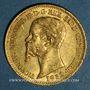 Monnaies Italie. Sardaigne. Victor Emmanuel II (1849-1861). 20 lires 1852 P. Gênes. (PTL 900‰. 6,45 g)