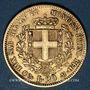 Monnaies Italie. Sardaigne. Victor Emmanuel II (1849-1861). 20 lires 1853 P. Gênes. (PTL 900‰. 6,45 g)