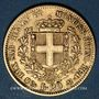 Monnaies Italie. Sardaigne. Victor Emmanuel II (1849-1861). 20 lires 1853P. Gênes. (PTL 900/1000. 6,45 g)