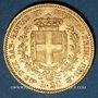 Monnaies Italie. Sardaigne. Victor Emmanuel II (1849-1861), 20 lires 1855B Turin. (PTL 900/1000. 6,45 g)