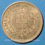 Monnaies Italie. Sardaigne. Victor Emmanuel II (1849-1861). 20 lires 1856 P. Gênes. (PTL 900‰. 6,45 g)