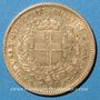 Monnaies Italie. Sardaigne. Victor Emmanuel II (1849-1861). 20 lires 1856P. Gênes. (PTL 900/1000. 6,45 g)