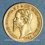Monnaies Italie. Sardaigne. Victor Emmanuel II (1849-1861). 20 lires 1859 B. Turin. (PTL 900‰. 6,45 g)