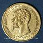 Monnaies Italie. Sardaigne. Victor Emmanuel II (1849-1861). 20 lires 1859P. Gênes. (PTL 900/1000. 6,45 g)
