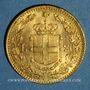 Monnaies Italie. Umberto I (1878-1900). 20 lires 1881 R. Rome. (PTL 900‰. 6,45 g)