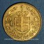 Monnaies Italie. Umberto I (1878-1900). 20 lires 1882 R. Rome. (PTL 900‰. 6,45 g)