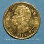 Monnaies Italie. Umberto I (1878-1900). 20 lires 1882R. Rome. (PTL 900/1000. 6,45 g)