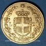 Monnaies Italie. Umberto I (1878-1900). 20 lires 1883R. Rome. (PTL 900/1000. 6,45 g)