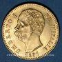 Monnaies Italie. Umberto I (1878-1900). 20 lires 1891R. Rome. (PTL 900/1000. 6,45 g)