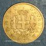 Monnaies Italie. Victor Emmanuel II (1861-1878). 10 lires 1863 T BN. Turin. (PTL 900‰. 3,22 g)