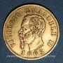 Monnaies Italie. Victor Emmanuel II (1861-1878). 10 lires 1863T BN. Turin. (PTL 900/1000. 3,22 g)