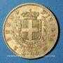 Monnaies Italie. Victor Emmanuel II (1861-1878). 20 lires 1862 T BN. Turin. (PTL 900‰. 6,45 g)