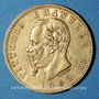 Monnaies Italie. Victor Emmanuel II (1861-1878). 20 lires 1862T BN. Turin. (PTL 900/1000. 6,45 g)