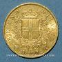 Monnaies Italie. Victor Emmanuel II (1861-1878). 20 lires 1863T BN. Turin. (PTL 900/1000. 6,45 g)