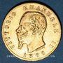 Monnaies Italie. Victor Emmanuel II (1861-1878). 20 lires 1865 T BN. Turin. (PTL 900‰. 6,45 g)