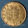 Monnaies Italie. Victor Emmanuel II (1861-1878). 20 lires 1867T BN. Turin. (PTL 900/1000. 6,45 g)