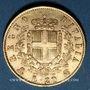 Monnaies Italie. Victor Emmanuel II (1861-1878). 20 lires 1873. Milan. (PTL 900‰. 6,45 g)