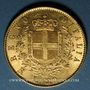 Monnaies Italie. Victor Emmanuel II (1861-1878). 20 lires 1876R. Rome. (PTL 900/1000. 6,45 g)