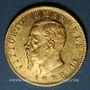 Monnaies Italie. Victor Emmanuel II (1861-1878). 20 lires 1878 R. Rome. (PTL 900‰. 6,45 g)