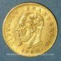 Monnaies Italie. Victor Emmanuel II (1861-1878). 5 lires 1863 T BN. Turin. (PTL 900‰. 1,61 g)